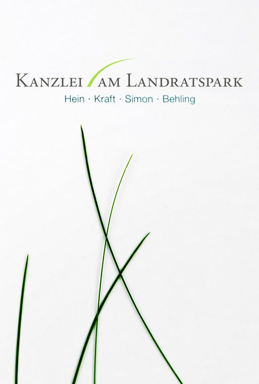 Kanzlei am Landratspark, Corporate Design, Daniela Sarau, Bad Segeberg
